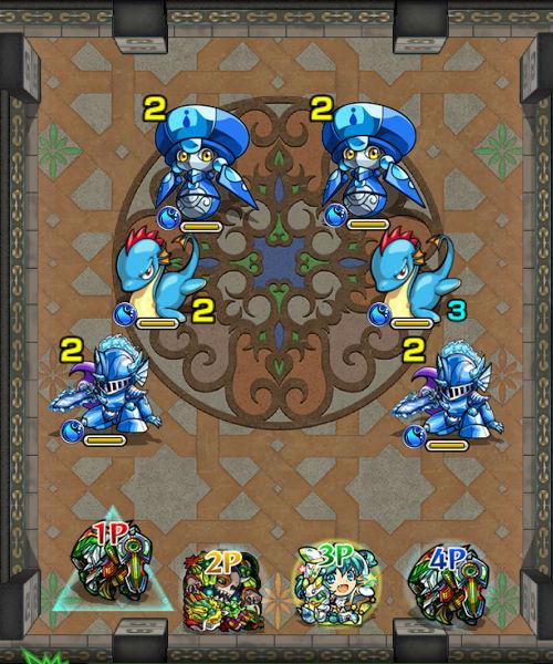 覇者の塔22階 ステージ1
