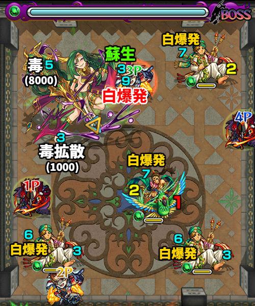 覇者の塔23階 ボス1