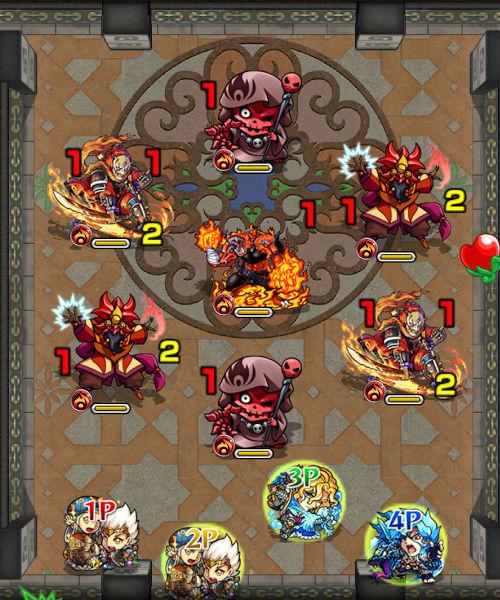 覇者の塔26階 ステージ1