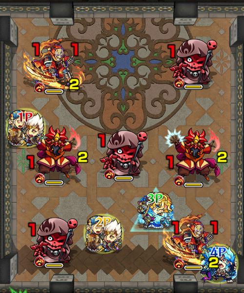 覇者の塔25階 ステージ2