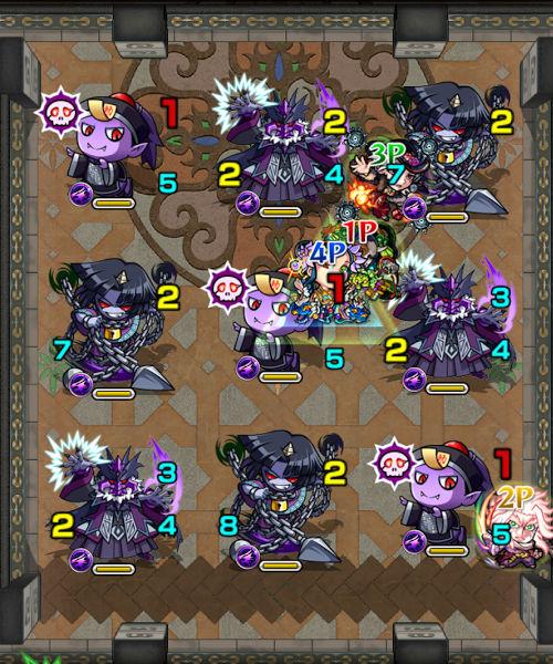 覇者の塔29階 ステージ2
