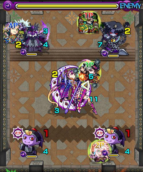 覇者の塔29階 ステージ3