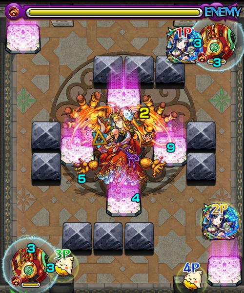 覇者の塔31階 ステージ4