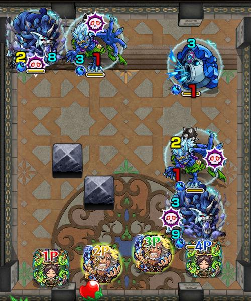 覇者の塔32階 ステージ1