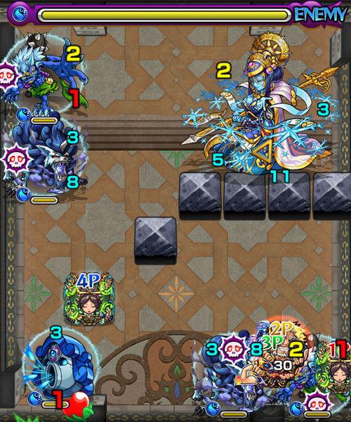 覇者の塔32階 ステージ3