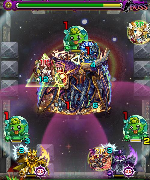 覇者の塔35階 ボス3-2