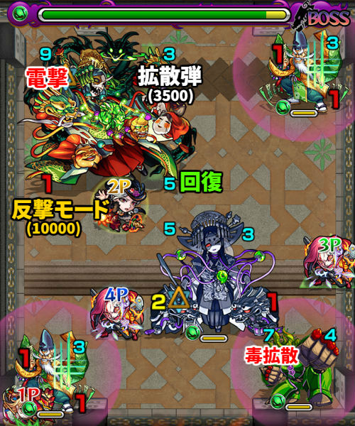 覇者の塔37階 ボス3