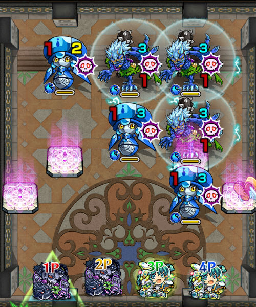 覇者の塔38階 ステージ1