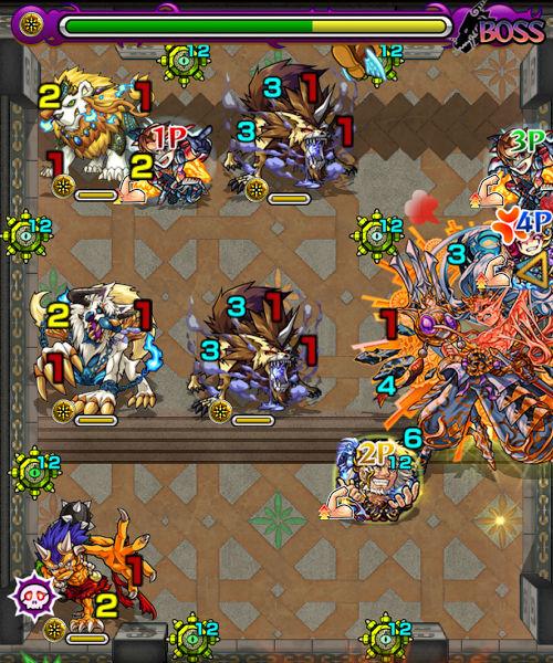 覇者の塔39階 ボス2-2