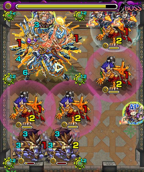 覇者の塔39階 ボス3-2