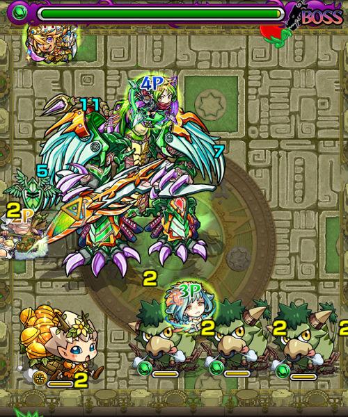 樹縛の神殿 時の間 ボス3