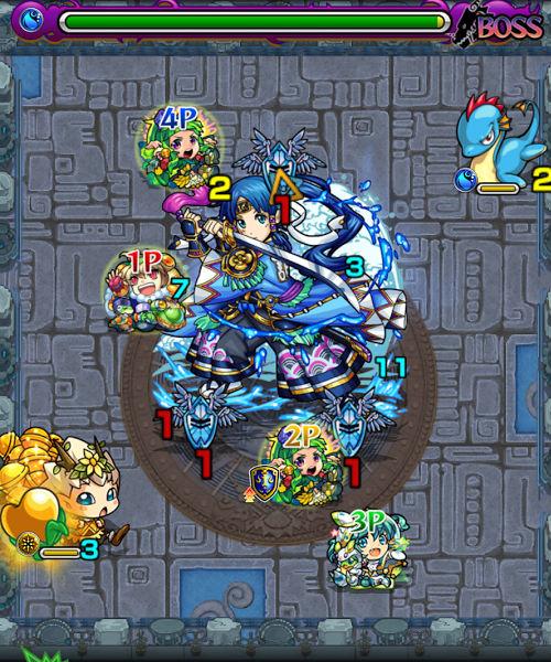 秘泉の神殿 時の間 ボス3