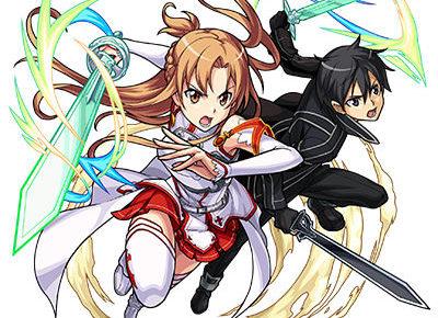 閃光のアスナ&黒の剣士キリト(進化)