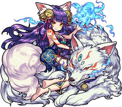傾国の妖狐姫 妲己(獣神化)