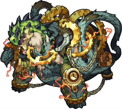 秩序の守護神獣 ガラゴーラ(進化)