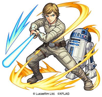 ジェダイの騎士 ルーク&R2-D2(進化)