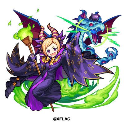 黒竜の魔女 ヴィラン・パンドラ(進化)