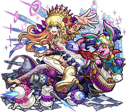 鏡の国の絶対女王 アリス(獣神化)