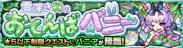 雪深き森のおてんばバニー/バニア(星5制限)