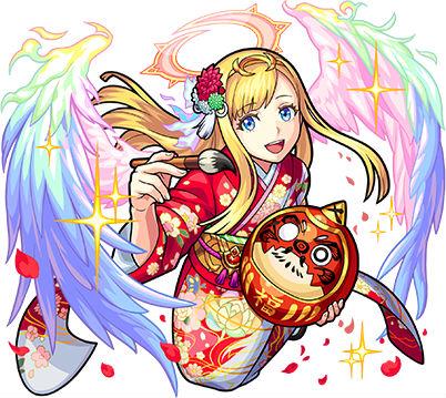 情愛の新春天使 マナ(進化)