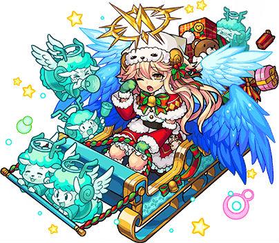 幻視のサンタ天使 ラミエル(進化)