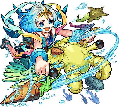海の主宰神 ワタツミ(進化)