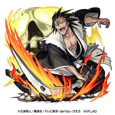 十一番隊隊長 更木剣八(進化)